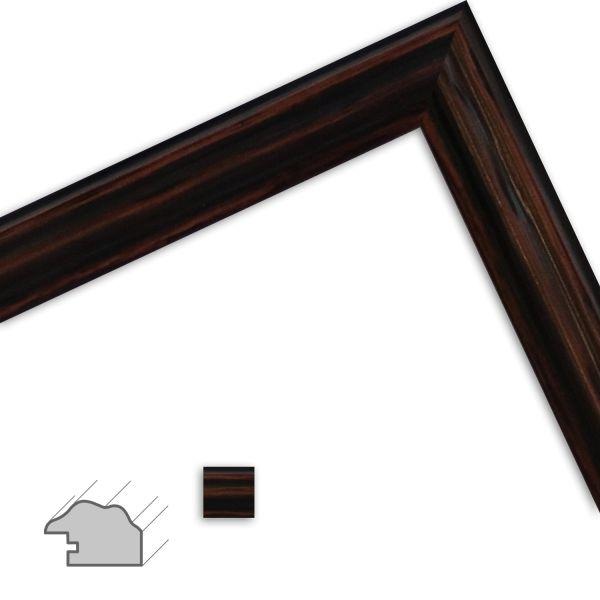 Bilderrahmen H444 Landhaus-Stil aus Massivholz
