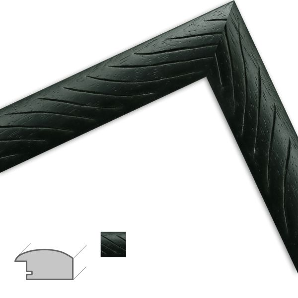 Bilderrahmen H503 Modern aus Massivholz