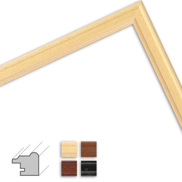 Bilderrahmen nach Maß H009 klassisch aus Massivholz