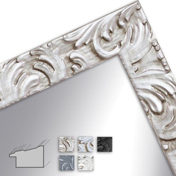 H650 Spiegel Maßanfertigung Barock Modern Massivholz