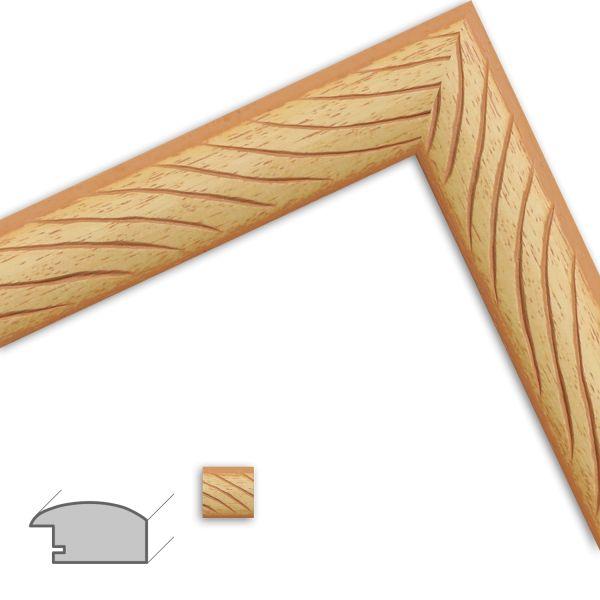 Bilderrahmen H502 Modern aus Massivholz