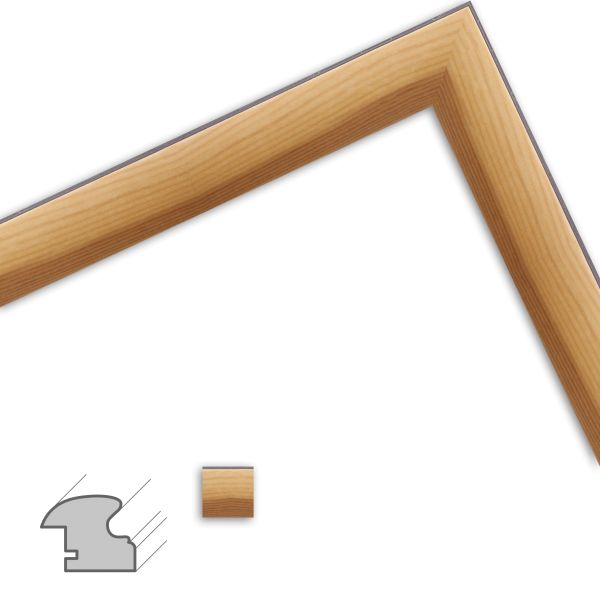 Bilderrahmen H054 klassisch aus Massivholz