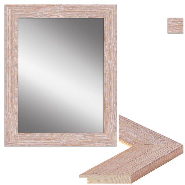 Wandspiegel H380 klassisch aus Massivholz