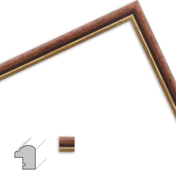 Bilderrahmen H066 Antik aus Massivholz