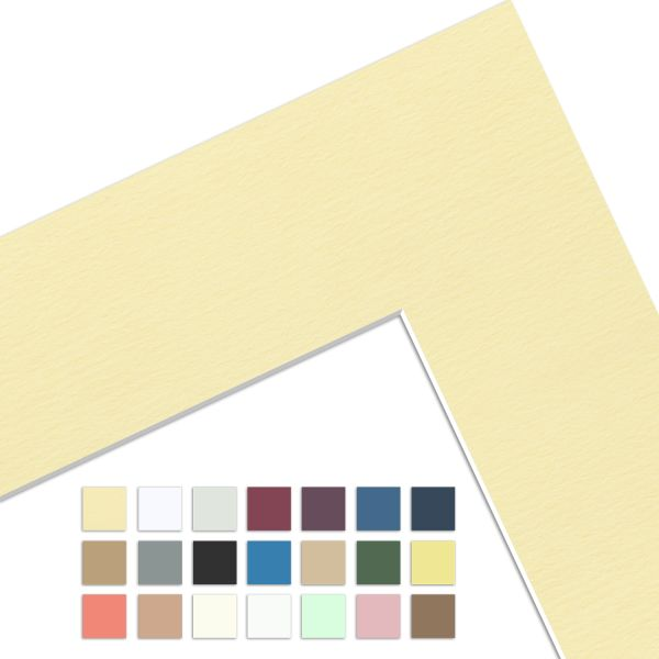 Fertig-Passepartout Kartonstärke 1,4 mm