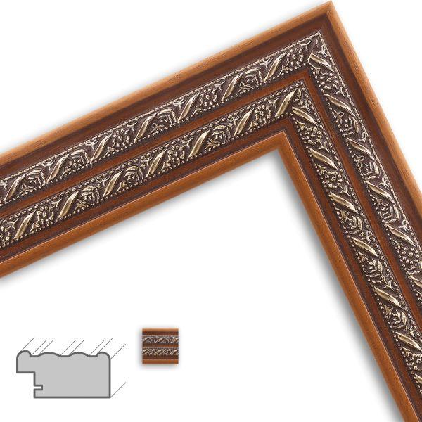 Bilderrahmen H148 Antik aus Massivholz