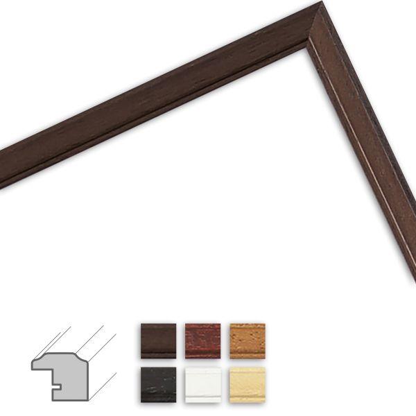 Bilderrahmen nach Maß H011 klassisch aus Massivholz