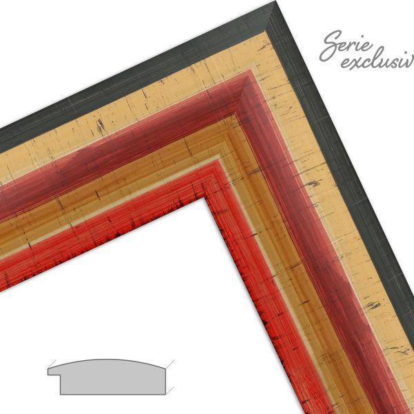Bilderrahmen nach Maß E018 Modern aus Massivholz