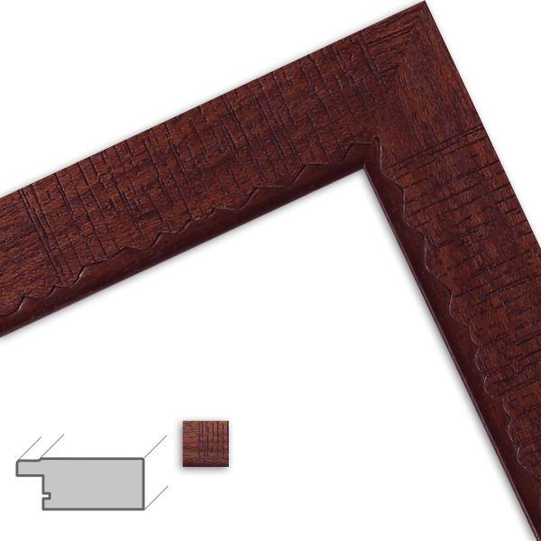 Bilderrahmen nach Maß H603 klassisch aus Massivholz