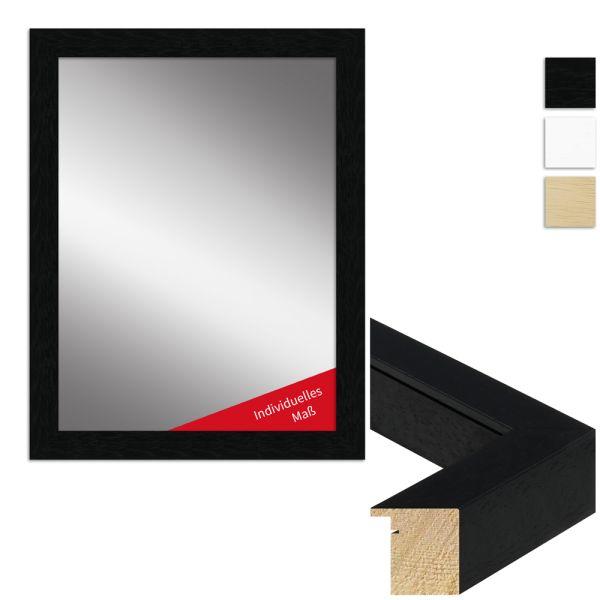 Wandspiegel nach Maß H970 modern aus Massivholz