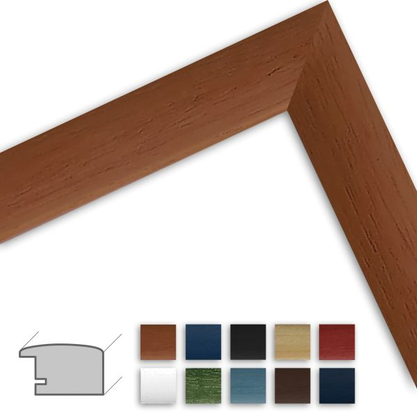 Bilderrahmen H220 klassisch aus Massivholz