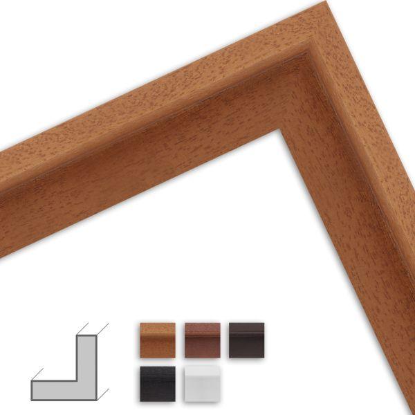 Schattenfugenrahmen nach Maß HS01 klassisch aus Massivholz